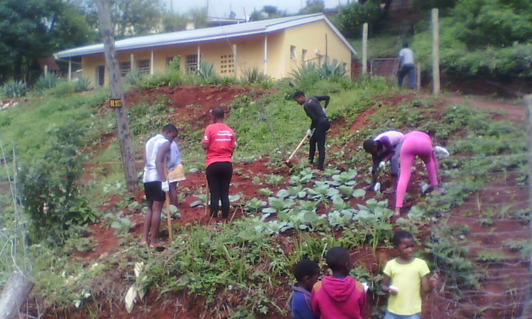 Gardening at Malagwane